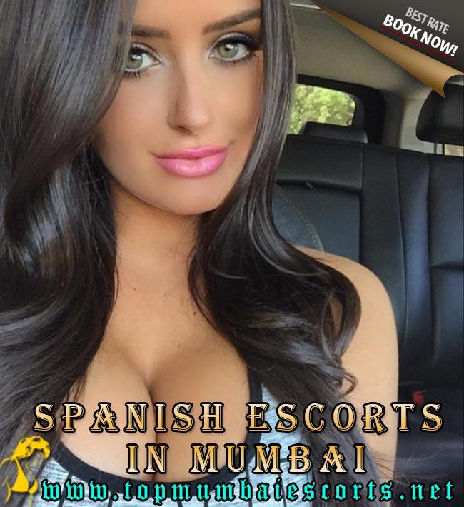 spanish escorts in mumbai